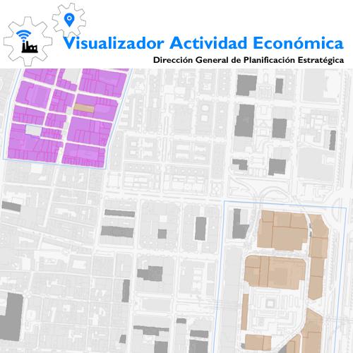 Visualizador Actividad Económica